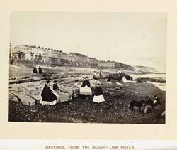 Hastings, From The Beach, Low Water